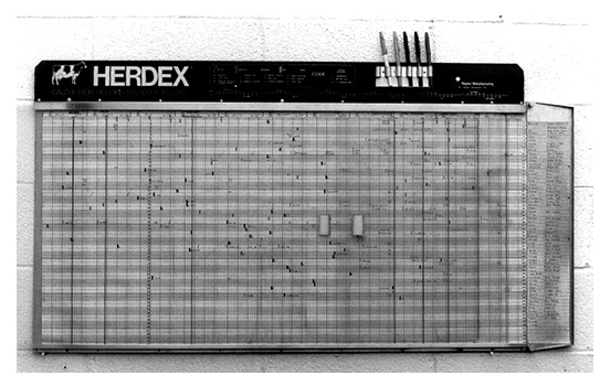 Herdex Dairy Herd Record System Raytec Manufacturing Llc