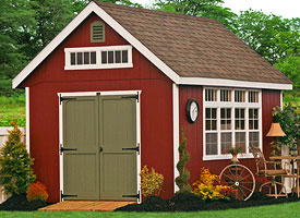 Storage Shed Trim image